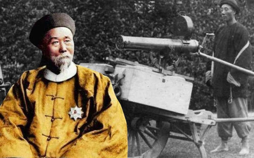"""Lần đầu nhìn thấy súng Maxim của Anh, Lý Hồng Chương dù rất thích nhưng không mua, nói 1 câu phơi bày """"điểm yếu"""" khiến Thanh triều diệt vong"""