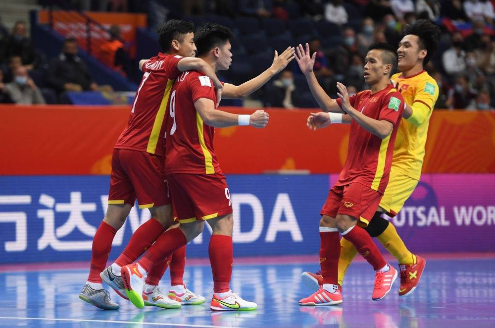Suýt tạo cú sốc lớn ở World Cup, tuyển Việt Nam nhận được khoản thưởng ý nghĩa từ VFF - Ảnh 1.