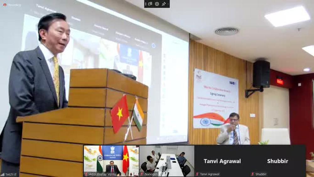 Ấn Độ hỗ trợ phát triển vắc-xin Nano Covax của Việt Nam  - Ảnh 1.