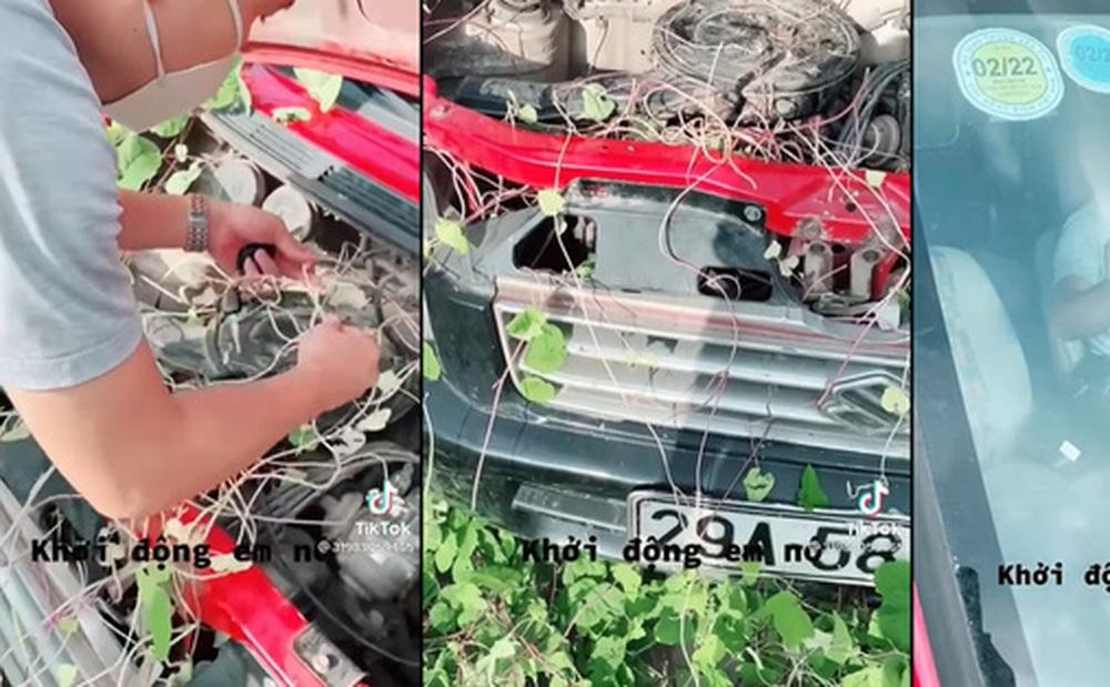 Gặp lại xe sau 2 tháng, chủ nhân chiếc Suzuki ngỡ như ''xe ở trong rừng ra'', CĐM ngạc nhiên với một chi tiết đặc biệt