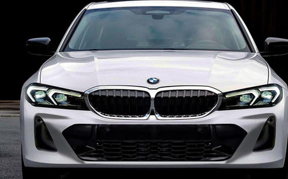 Bản thiết kế của BMW 3-Series 2022 rò rỉ khiến fan 'thở phào' vì không có chi tiết này