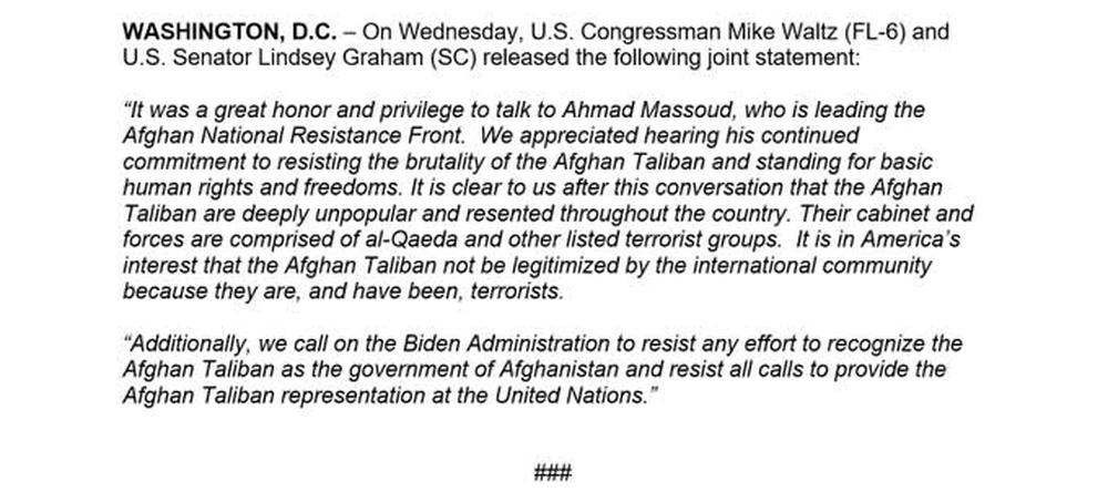 Lý do thủ lĩnh nổi dậy Afghanistan mất tích khỏi Panjshir: Cuộc tiếp xúc bí mật với Mỹ! - Ảnh 1.