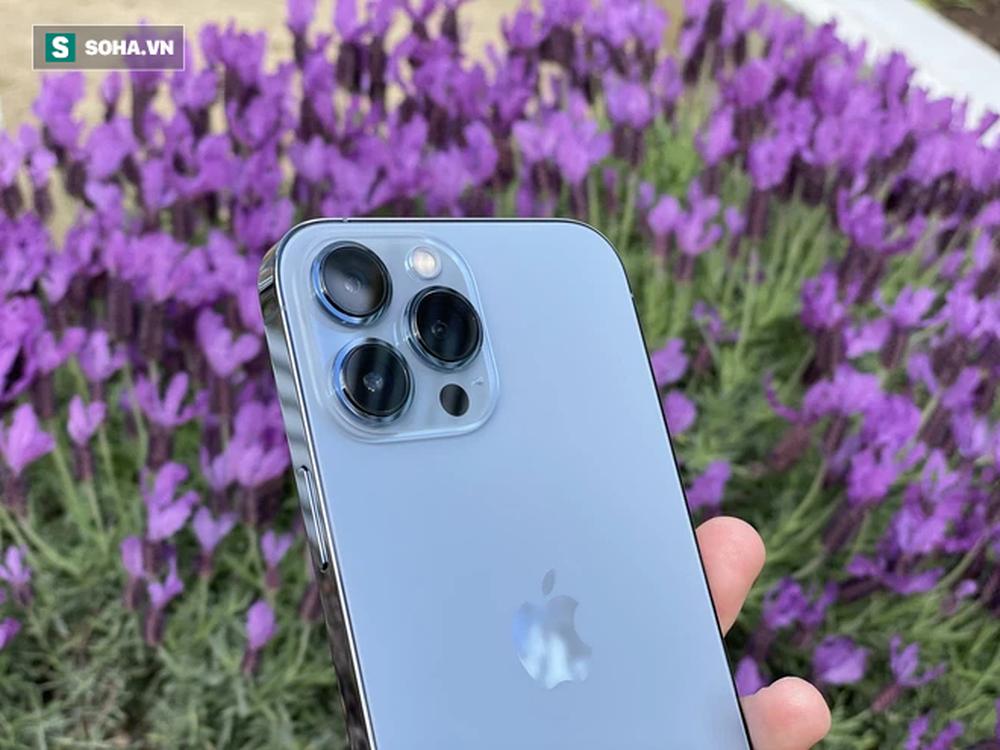 Trên tay iPhone 13 Pro Max màu xanh hot nhất năm nay - Ảnh 2.