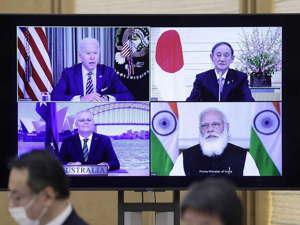 Thượng đỉnh Quad: 4 ông lớn khai đao với Trung Quốc - Hành vi ở Biển Đông bị chỉ thẳng mặt? - Ảnh 1.