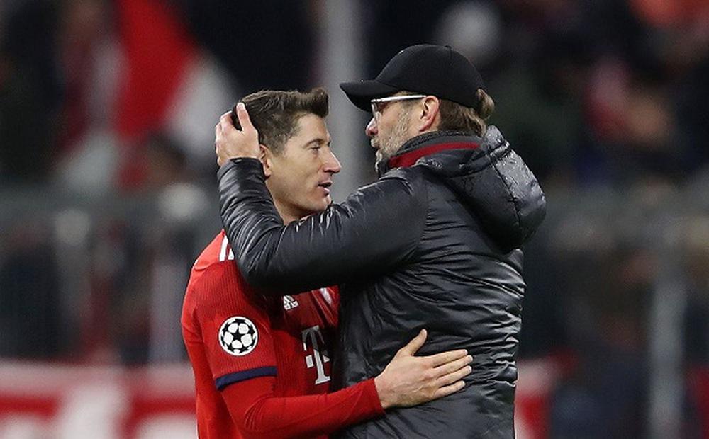 Klopp hẹn Lewandowski ở chung kết Champions League