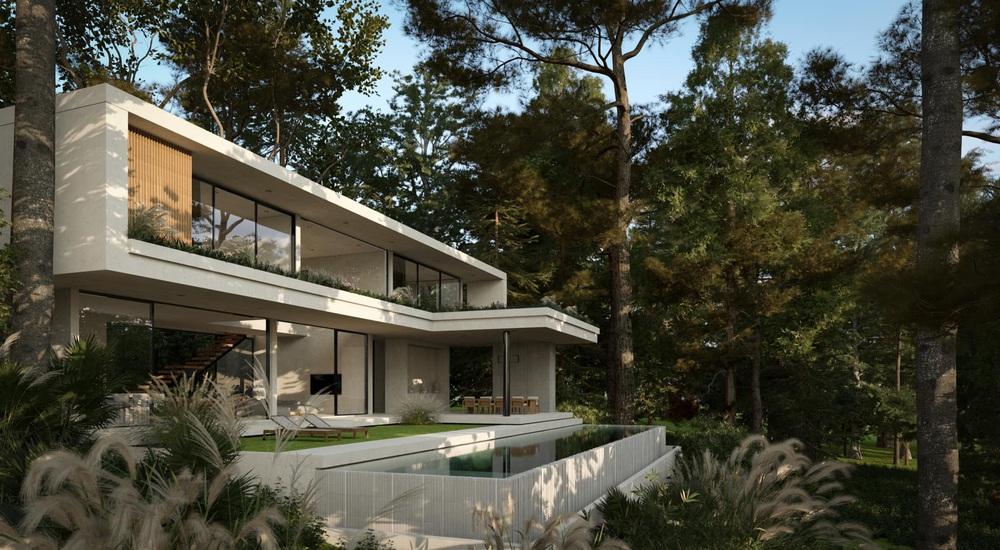 Phạm Băng Băng Việt Nam lấy đại gia Thái siêu giàu, khoe cận cảnh villa 230 tỷ nằm giữa rừng - Ảnh 2.