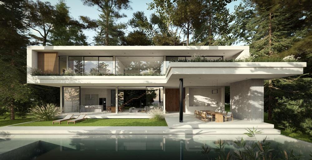 Phạm Băng Băng Việt Nam lấy đại gia Thái siêu giàu, khoe cận cảnh villa 230 tỷ nằm giữa rừng - Ảnh 1.