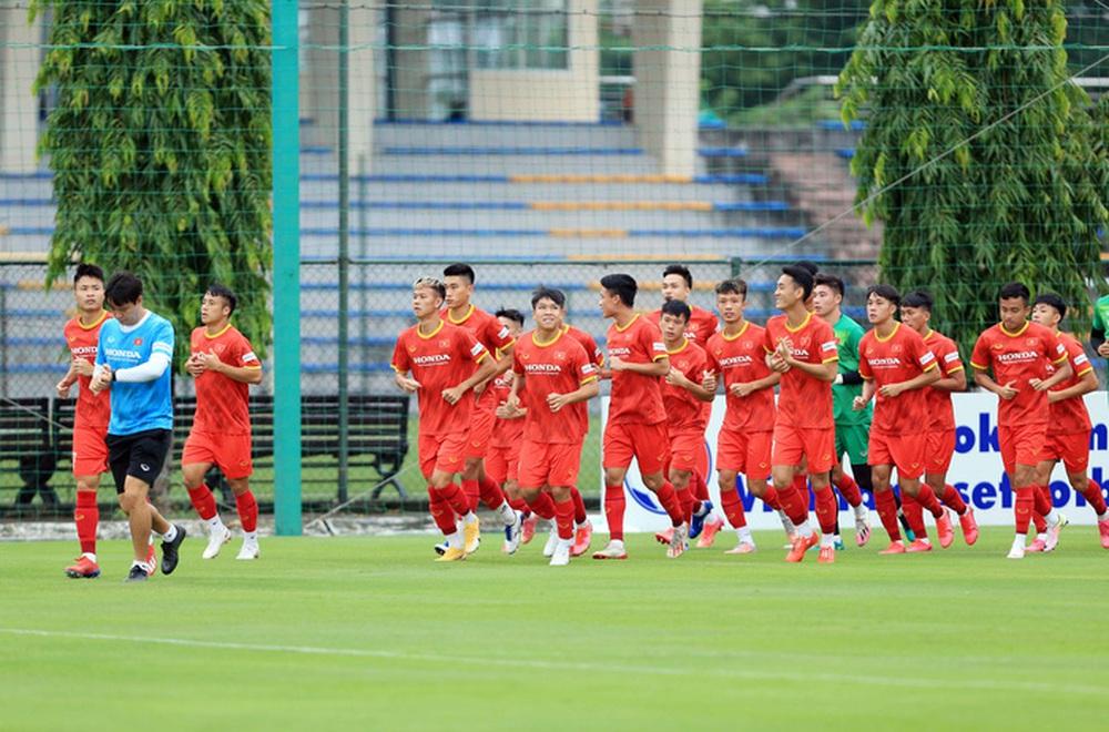 Cầu thủ U22 Việt Nam nỗ lực cạnh tranh suất tham dự vòng loại U23 châu Á 2022 - Ảnh 2.