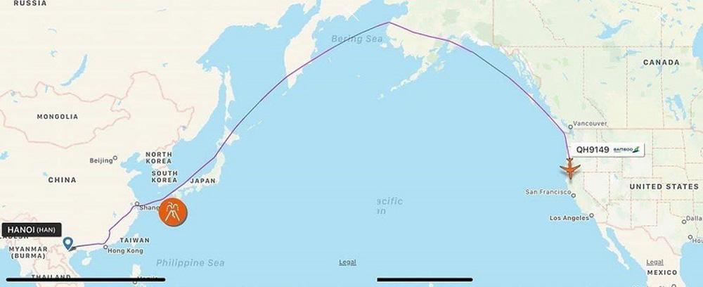 Vì sao máy bay của Bamboo Airways không bay thẳng qua Thái Bình Dương để đến Mỹ? - Ảnh 1.