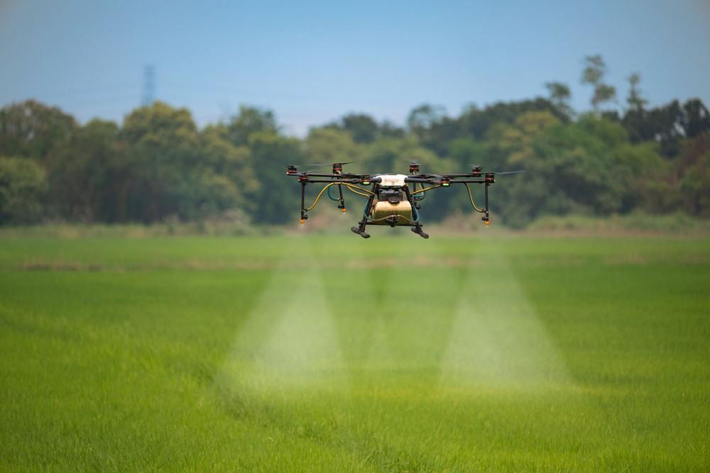 Cảnh tượng máy móc thu hoạch nông sản tại nông trại 'không người lái' - Ảnh 5.