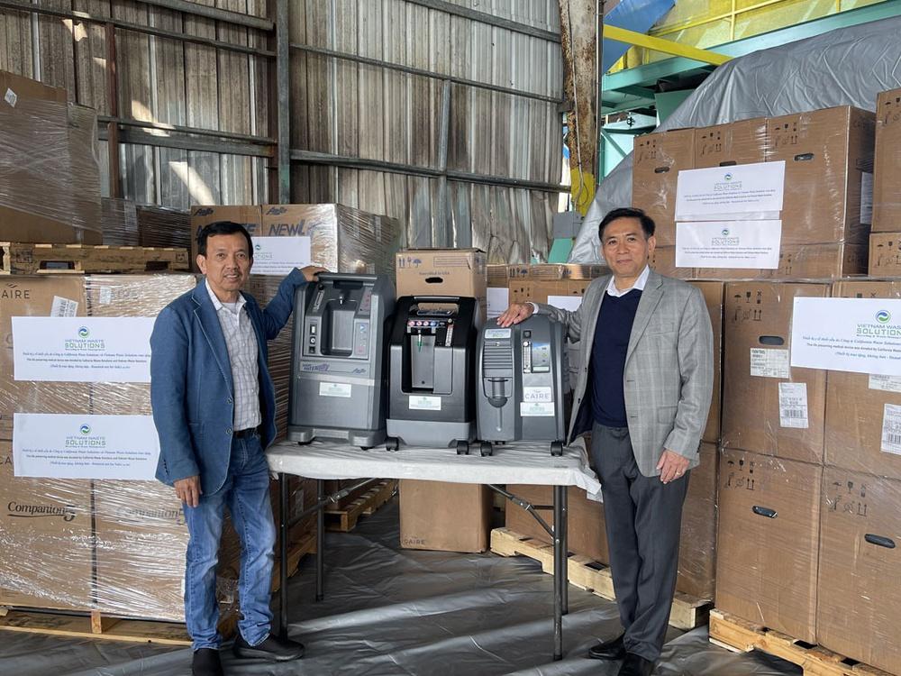 Đại gia người Việt ở Mỹ vừa tặng 1.000 máy tạo oxy chống dịch là ai? - Ảnh 1.