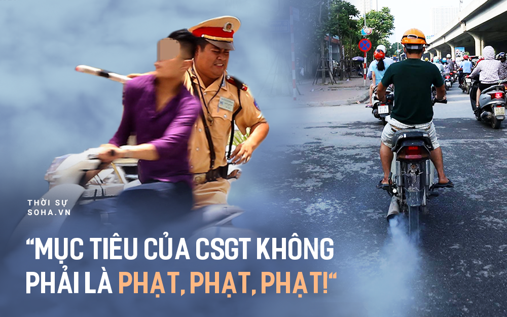 Cục CSGT: Việc bắt buộc kiểm tra khí thải hàng chục triệu xe máy là để bảo vệ người dân, không nhằm mục đích xử phạt - Ảnh 1.