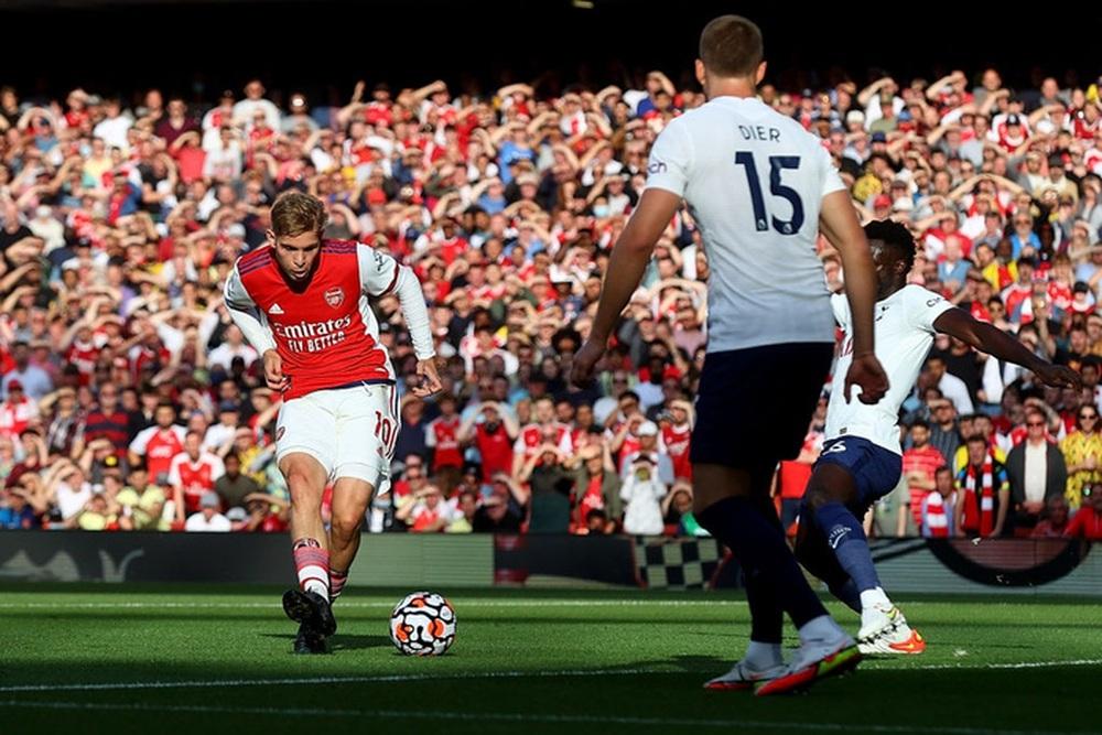 Hàng công rực cháy giúp Arsenal nghiền nát Tottenham ngay trong 30 phút hiệp 1 - Ảnh 2.