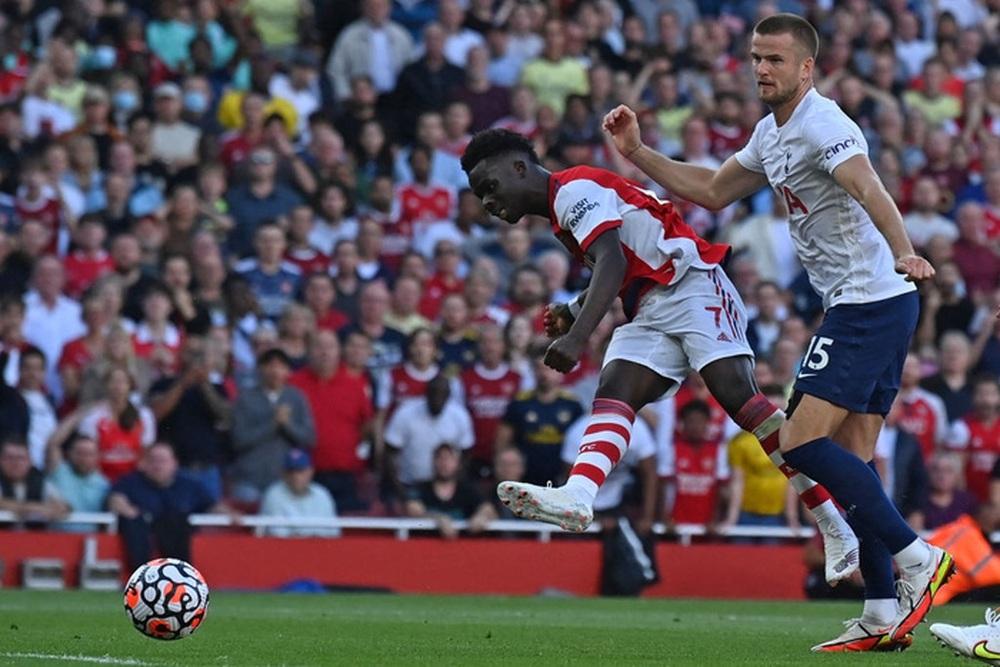 Hàng công rực cháy giúp Arsenal nghiền nát Tottenham ngay trong 30 phút hiệp 1 - Ảnh 7.