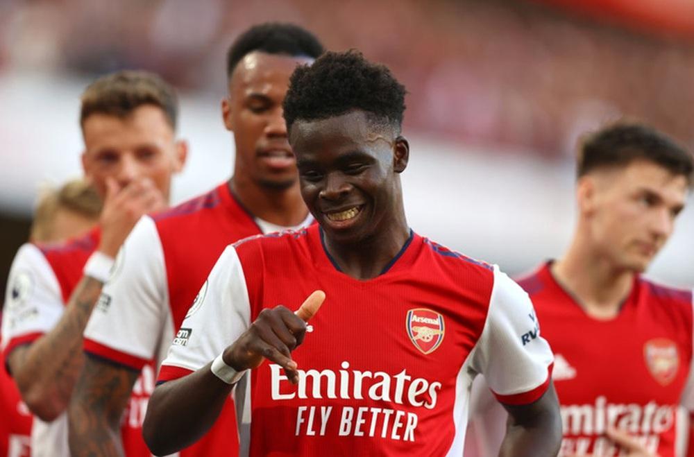 Hàng công rực cháy giúp Arsenal nghiền nát Tottenham ngay trong 30 phút hiệp 1 - Ảnh 8.
