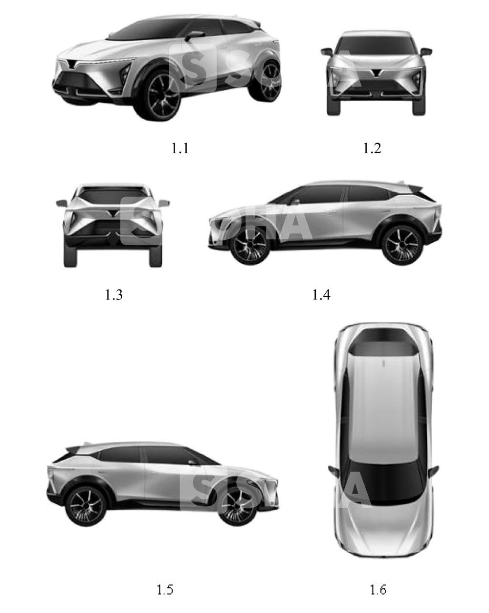 Lộ thiết kế 1 mẫu xe mới nữa của VinFast: Xuất hiện chi tiết kỳ lạ và khó hiểu - có mối liên hệ với Cadillac? - Ảnh 1.