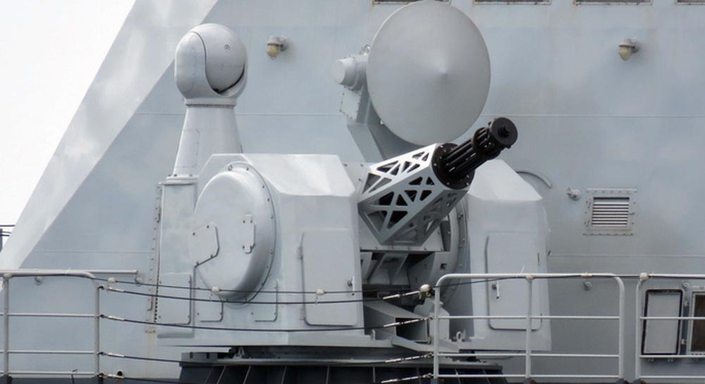 Trung Quốc ra mắt pháo 11 nòng, mục tiêu là máy bay không người lái  - Ảnh 1.