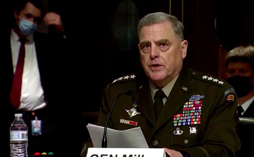 Tướng Mỹ có cuộc điều trần 'bão táp' vì hai cuộc gọi cho Trung Quốc