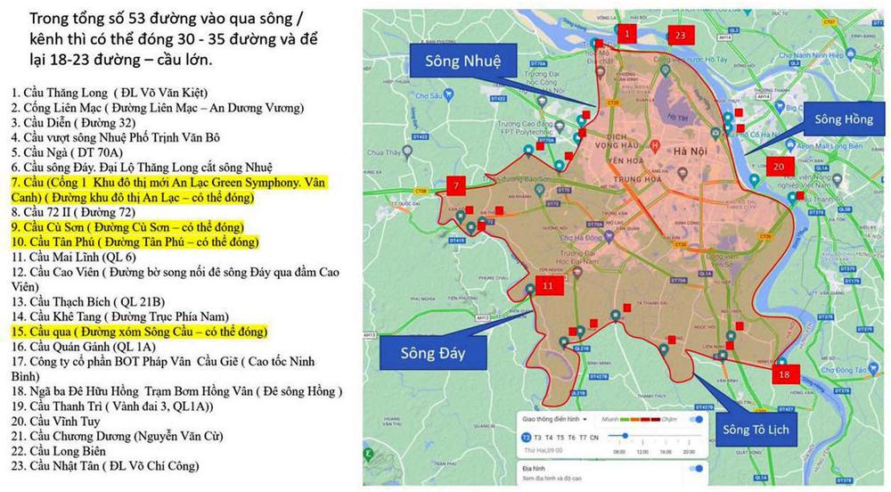 NÓNG: 10 quận, huyện tại Hà Nội tiếp tục giãn cách xã hội từ ngày 6/9 - Ảnh 1.