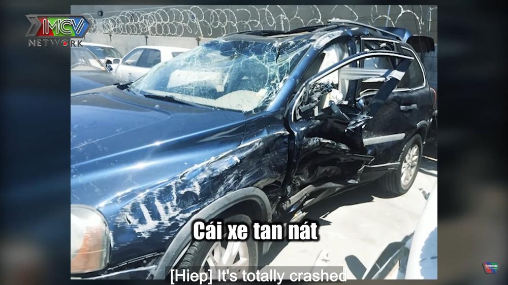 Ca sĩ Hoàng Hiệp gặp tai nạn kinh hoàng cận kề cái chết tại Mỹ, xe nát bét, lộn mấy vòng - Ảnh 3.
