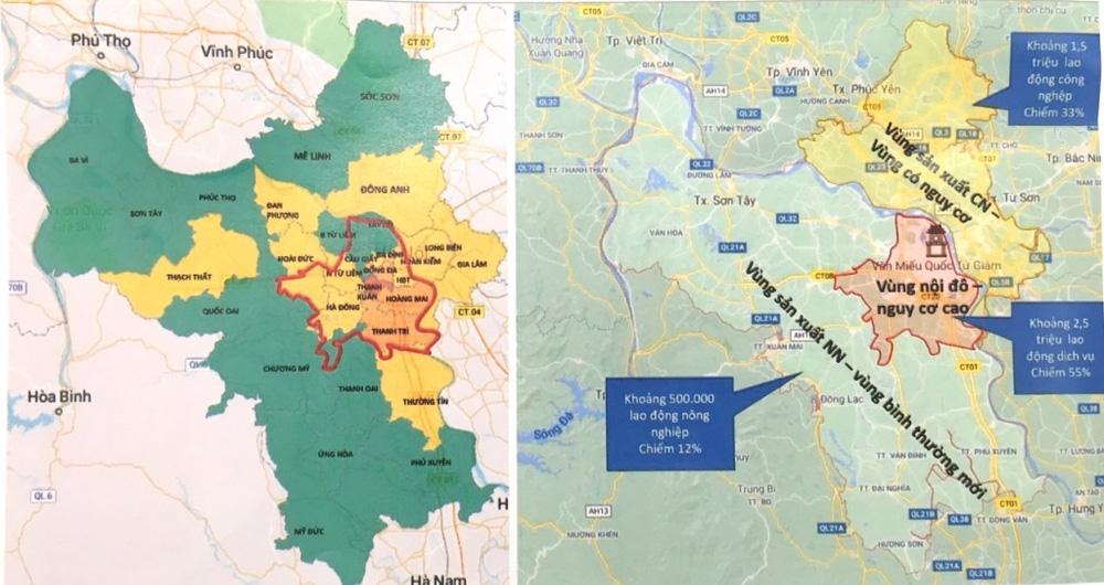 NÓNG: 10 quận, huyện tại Hà Nội tiếp tục giãn cách xã hội từ ngày 6/9 - Ảnh 2.