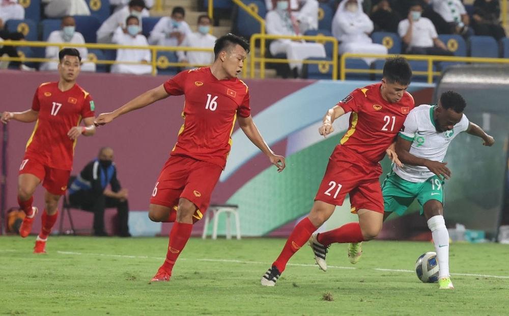 Bảng xếp hạng vòng loại World Cup 2022: Đội tuyển Việt Nam tạm thời xếp trên Trung Quốc