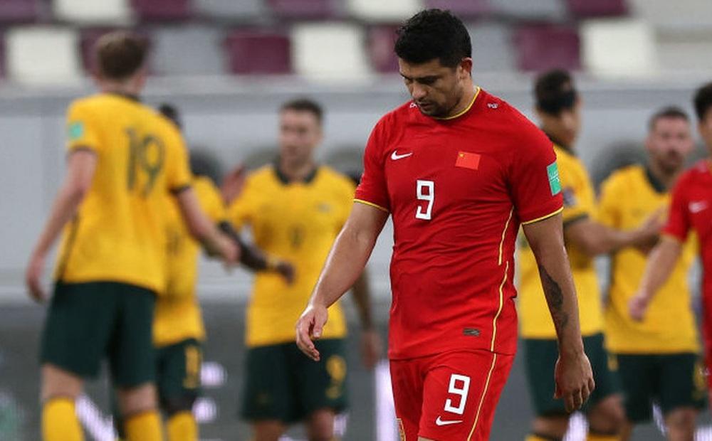 Tuyển Trung Quốc sở hữu loạt thống kê thất vọng, kém cỏi nhất châu Á ở lượt trận đầu tiên