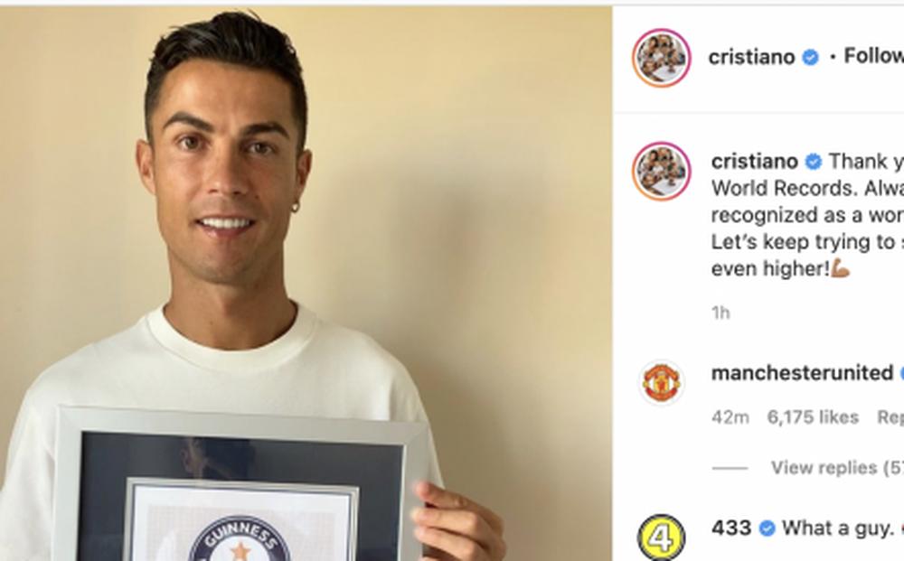Ghi 111 bàn cho ĐT Bồ Đào Nha, Ronaldo nhận kỷ lục Guinness