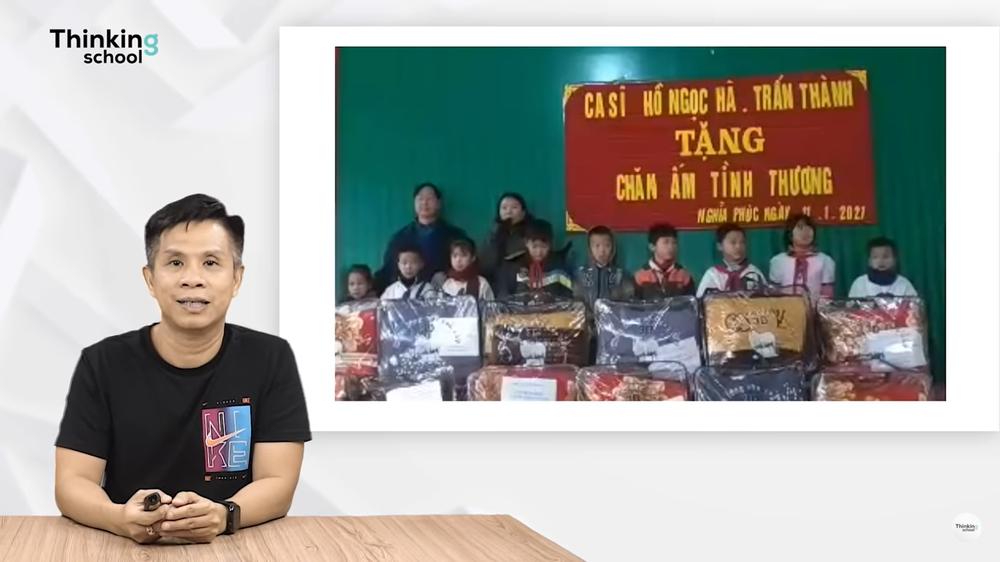 Tiến sĩ Vũ Thế Dũng phân tích vụ nhờ từ thiện hộ của MC Trấn Thành - Ảnh 1.
