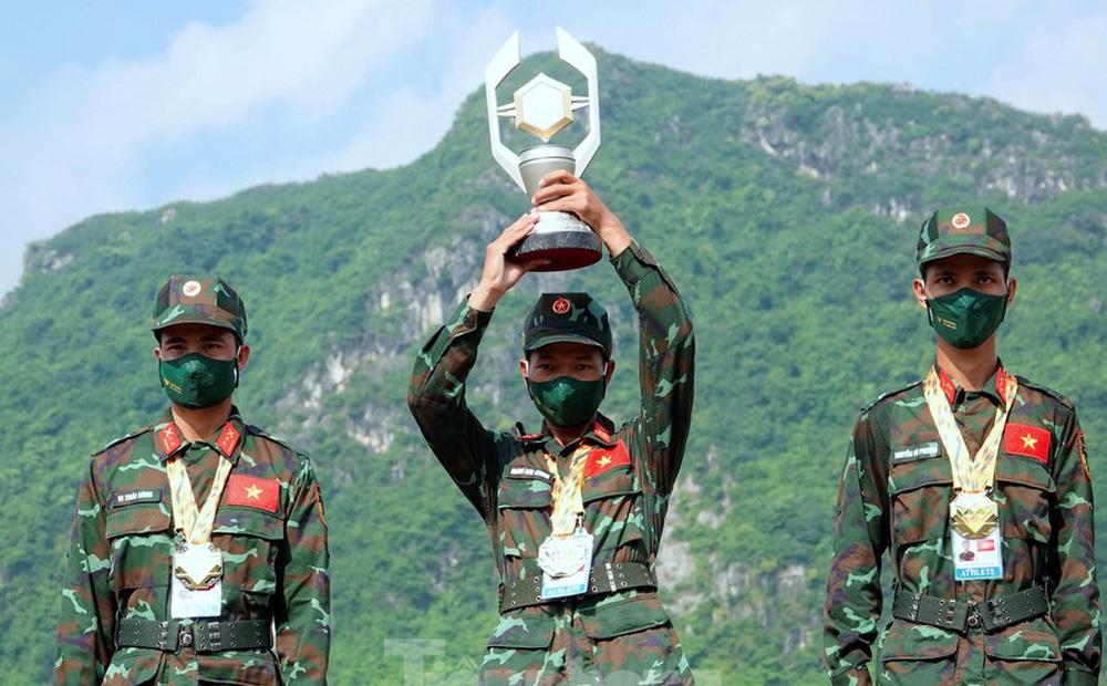 Army Games 2021 tại Việt Nam: Chiến binh Việt Nam và Nga đứng trên bục cao nhất