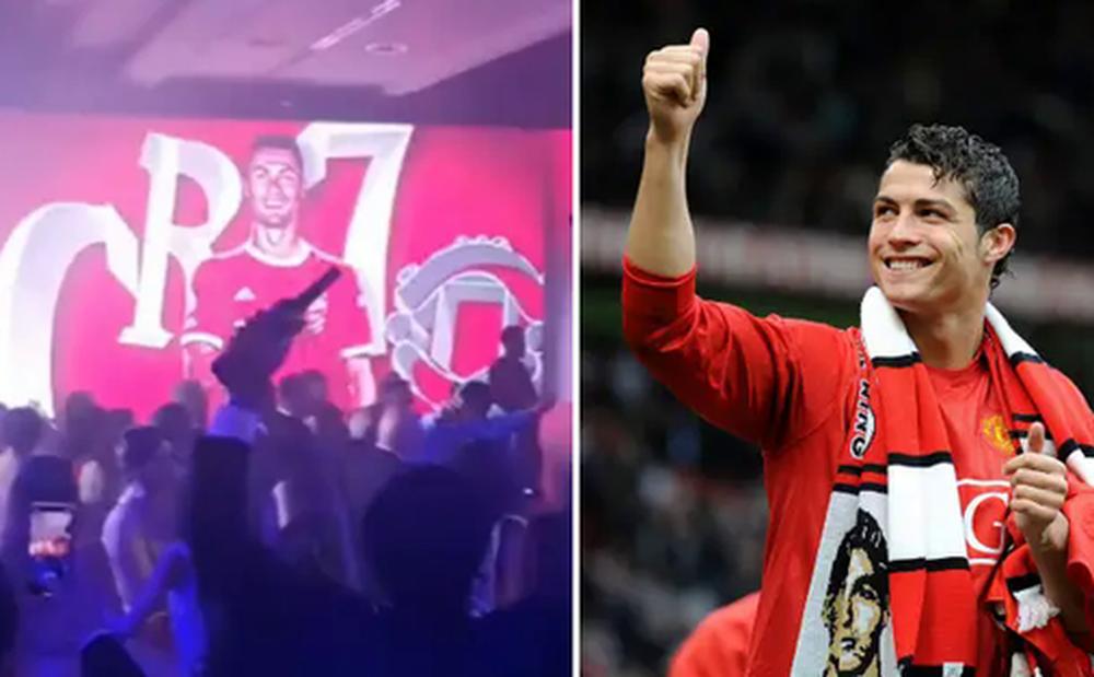Fan cuồng Ronaldo biến đám cưới em trai thành tiệc mừng thần tượng
