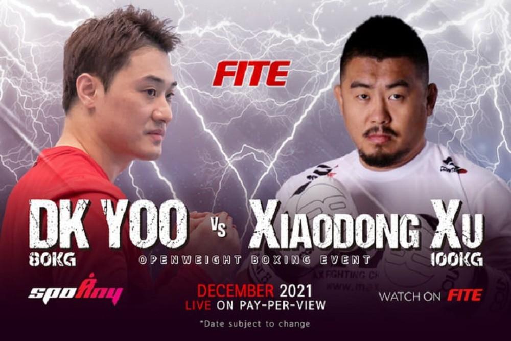 """Từ Hiểu Đông chính thức chốt kèo với """"Lý Tiểu Long của Hàn Quốc"""", đấu theo luật boxing - Ảnh 1."""