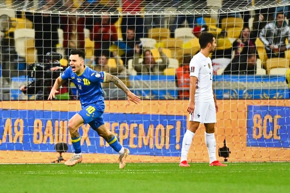 Chân gỗ tỏa sáng, Pháp vẫn để Ukraine cầm hòa 1-1 sau 90 phút - Ảnh 6.