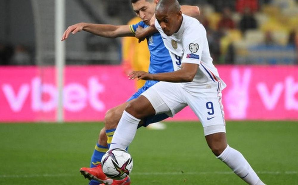 'Chân gỗ' tỏa sáng, Pháp vẫn để Ukraine cầm hòa 1-1 sau 90 phút