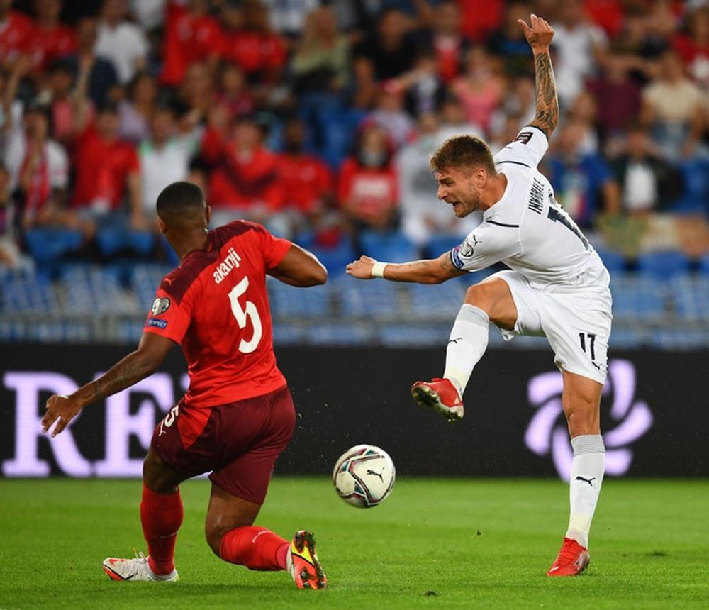 Jorginho đá hỏng 11m, Italy hoà Thuỵ Sĩ trong trận cầu không bàn thắng - Ảnh 4.
