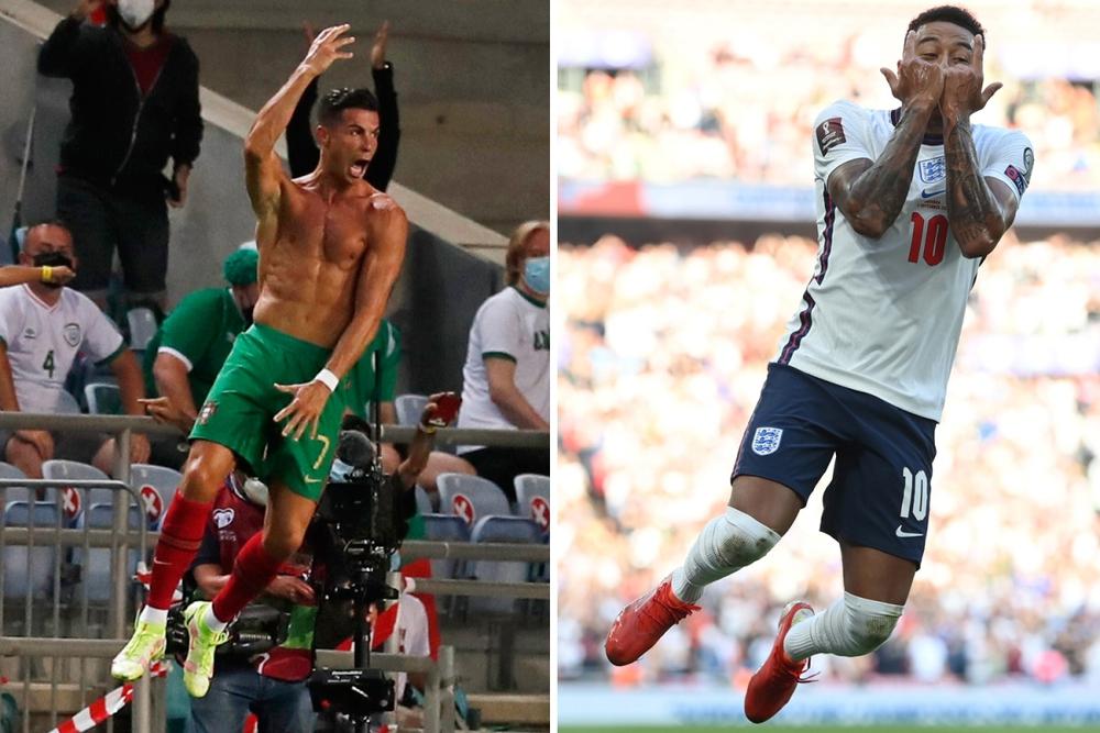 Lingard gây sốt với màn trình diễn 10 điểm và pha ăn mừng như Ronaldo - Ảnh 4.