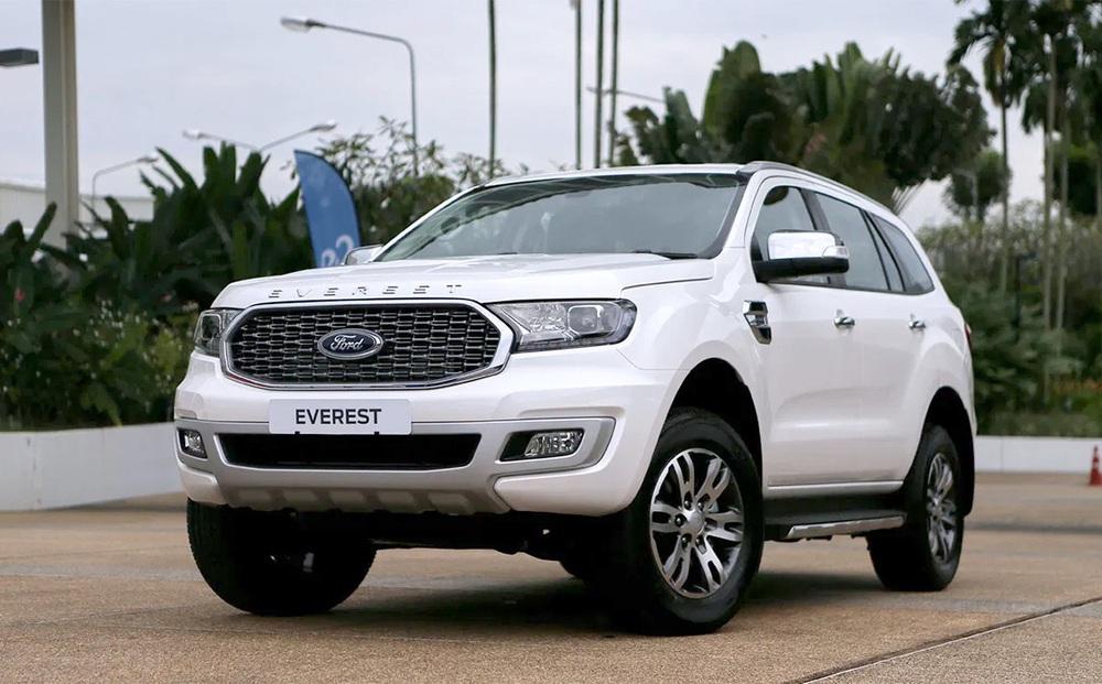 Ngoài giảm sốc hơn 100 triệu, Ford Everest lấy gì để 'vượt mặt' Toyota Fortuner, Hyundai SantaFe?