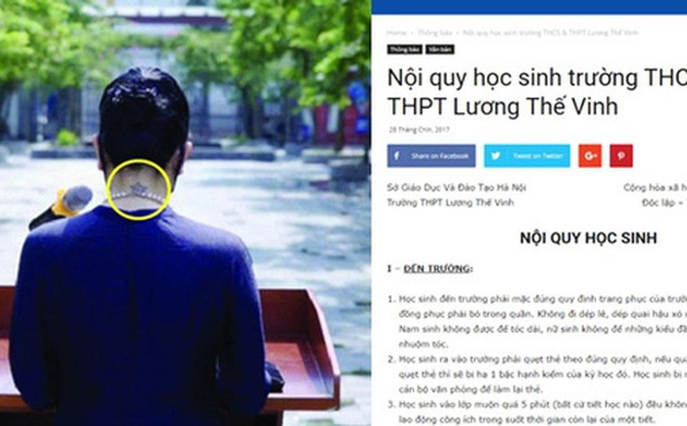 Kỷ luật thép tại ngôi trường Phó Hiệu trưởng Văn Thùy Dương giảng dạy: 4 điều tuyệt đối cấm trên Facebook, không ăn kẹo cao su trong trường...
