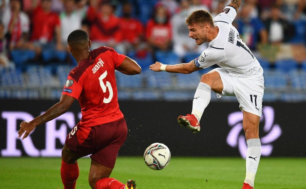 Jorginho đá hỏng 11m, Italy hoà Thuỵ Sĩ trong trận cầu không bàn thắng