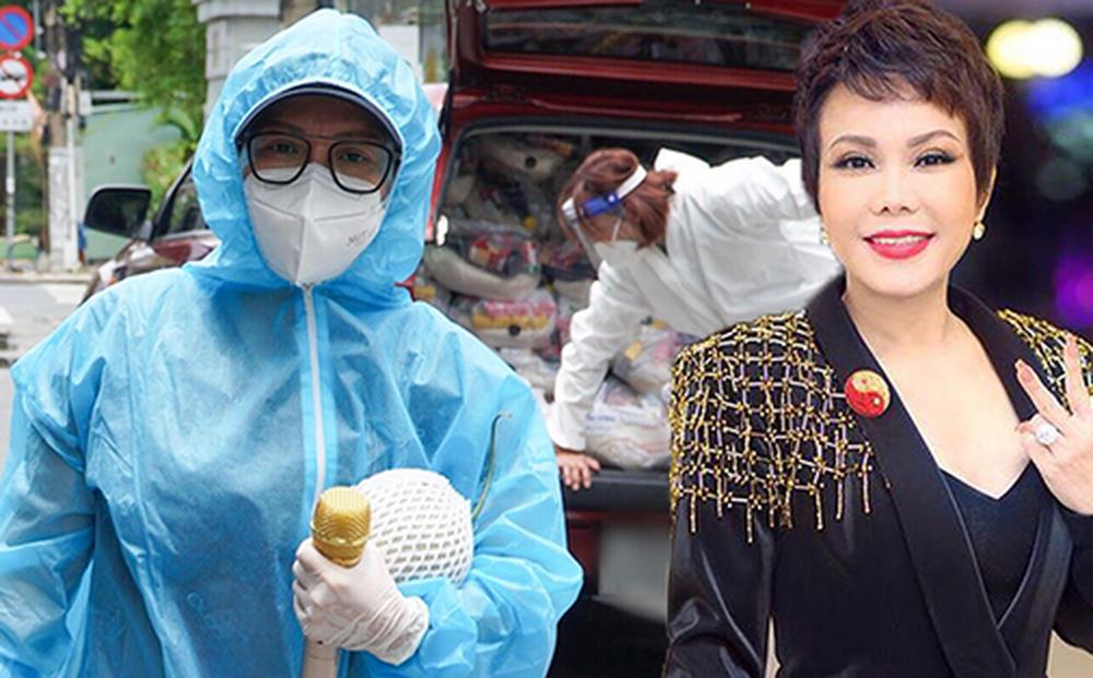 Không kêu gọi 1 đồng từ thiện, Việt Hương vẫn có hành động đáng khâm phục giữa lúc showbiz gặp bão 'sao kê'