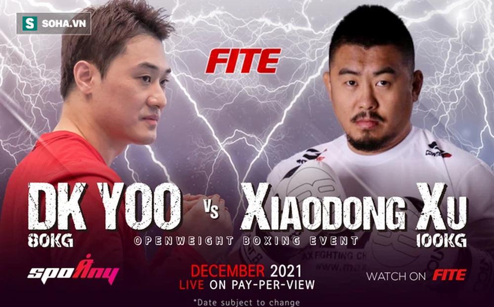 """""""Lý Tiểu Long Hàn Quốc"""" chính thức công bố thời gian diễn ra trận đấu với Từ Hiểu Đông"""
