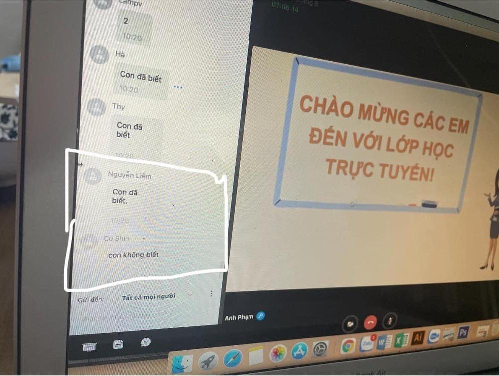 1001 chuyện học online mùa dịch: Thầy hỏi bạn nào không biết soạn tin nhắn, trò đáp một câu khiến tất cả đứng hình - Ảnh 2.