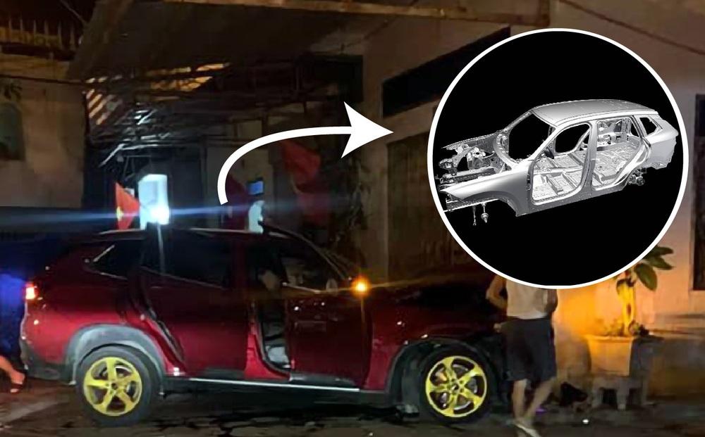 Vụ VinFast Lux SA2.0 tai nạn ở Quảng Ninh: Bí mật nào giúp VinFast Lux SA2.0 dù 'tan tành' phần đầu nhưng cabin không hề hấn?