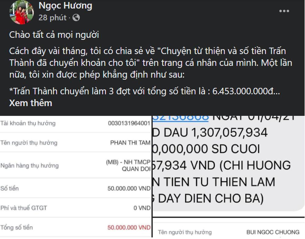 Bị réo tên vì Trấn Thành gửi hơn 6 tỷ làm từ thiện, mẹ Hà Hồ: Tôi sẽ không để ai vu khống, xúc phạm - Ảnh 1.