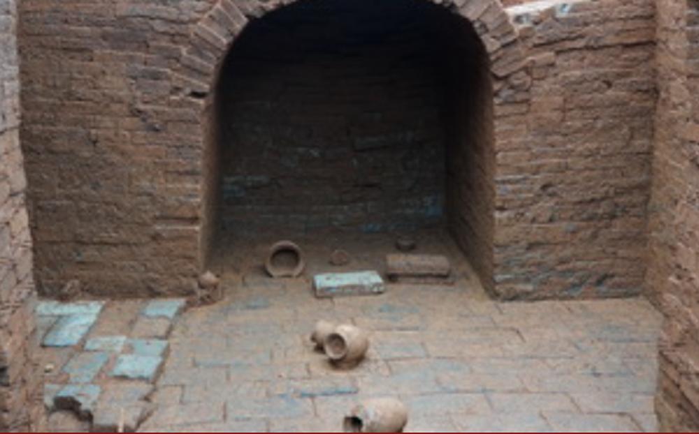 Phát hiện hơn 30 di tích văn hóa trong các ngôi mộ cổ ở miền Trung của Trung Quốc