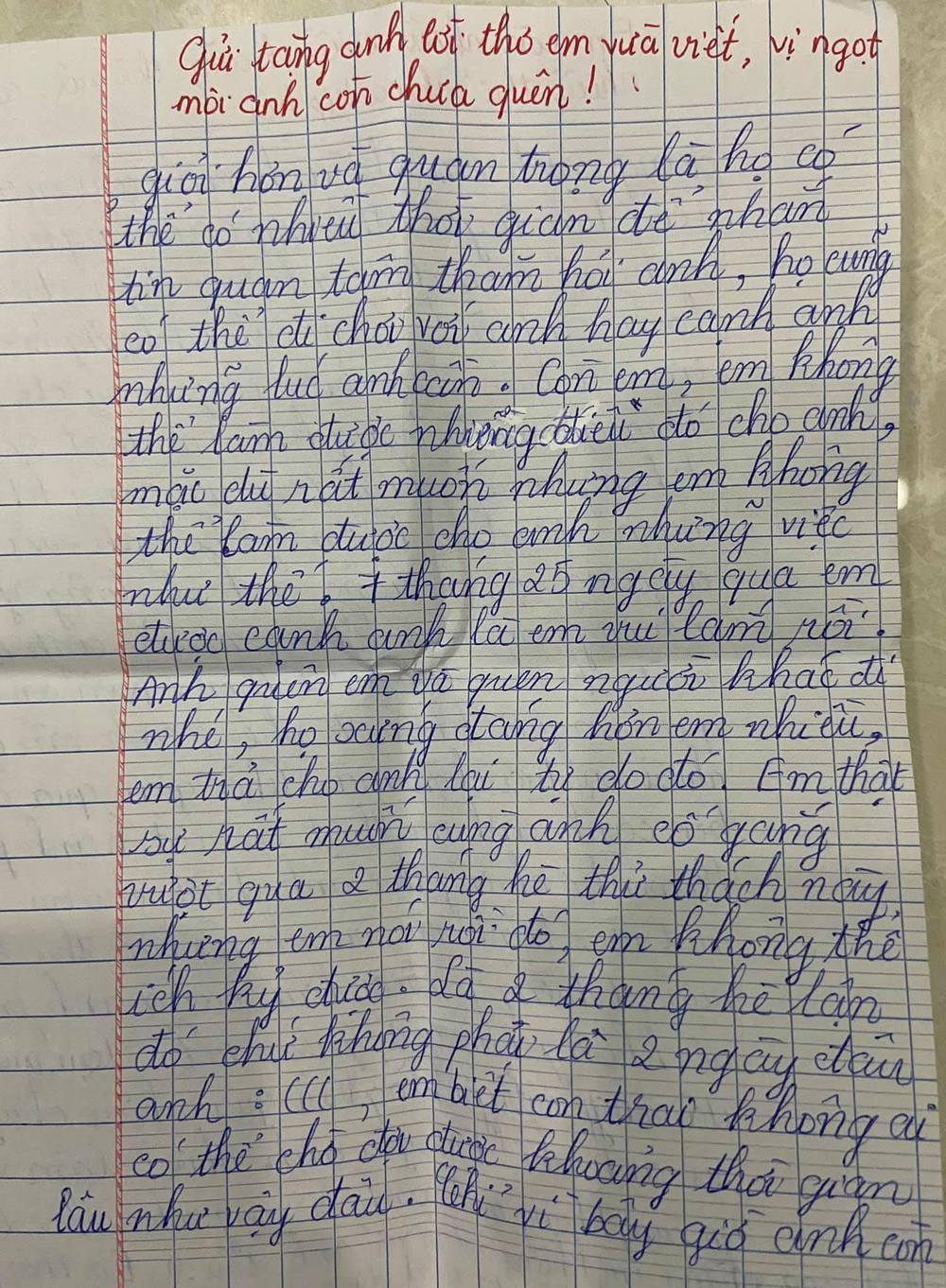 """Chuyện tình """"gà bông"""" của cặp đôi 10X được viết bằng hàng trăm lá thư tay - Ảnh 4."""