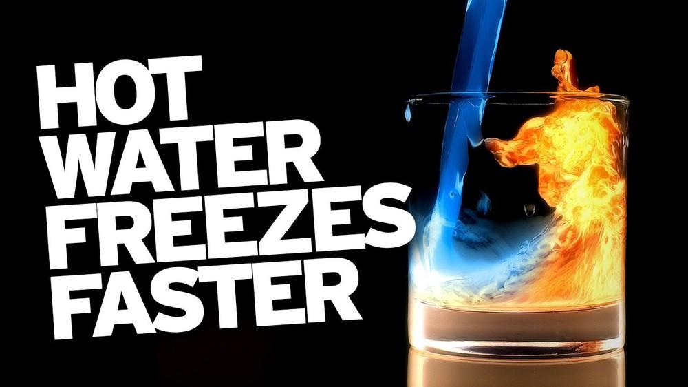 Vì sao nước nóng đóng băng nhanh hơn nước lạnh? - Ảnh 2.