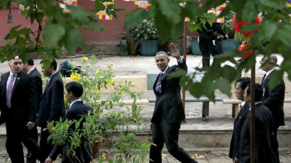15 hình ảnh thân thiện của Tổng thống Obama ở Việt Nam - Ảnh 12.