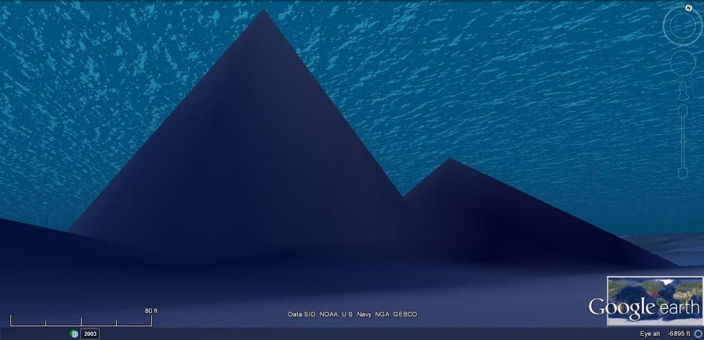 Tình cờ phát hiện ba kim tự tháp kỳ lạ dưới đáy biển Bồ Đào Nha - Ảnh 3.