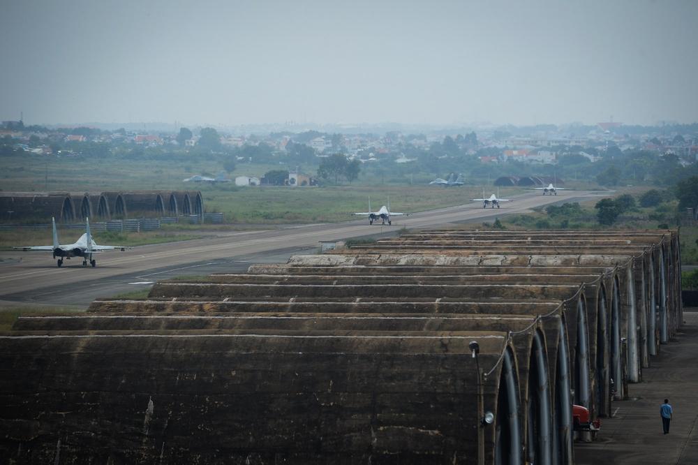 Màn trình diễn Voi đi bộ hoành tráng của Không quân Việt Nam - Ảnh 4.